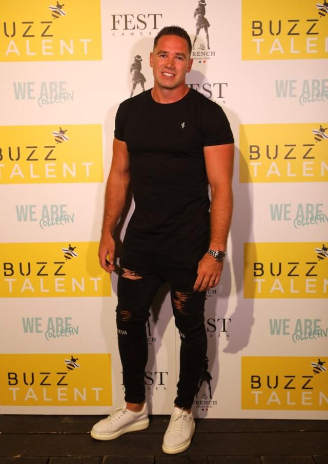 Kieran Hayler at the launch of Buzz Talent, where he met Danielle Mason
