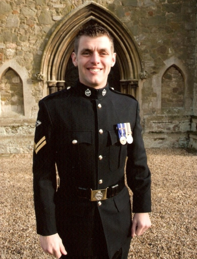 Corporal Lee Scott form the 2nd Royal Tank Regiment was killed in Afghanistan in 2009
