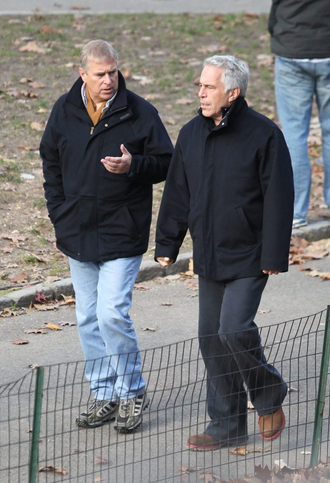 Prince Andrew, pictured with Jeffrey Epstein in 2010, also partied with him in Florida in 2000