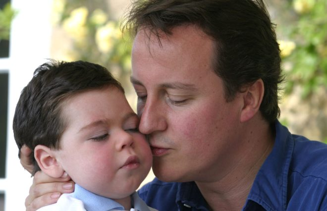 David Cameron opened up about the torture of watching his little boy suffer with an incurable syndrome