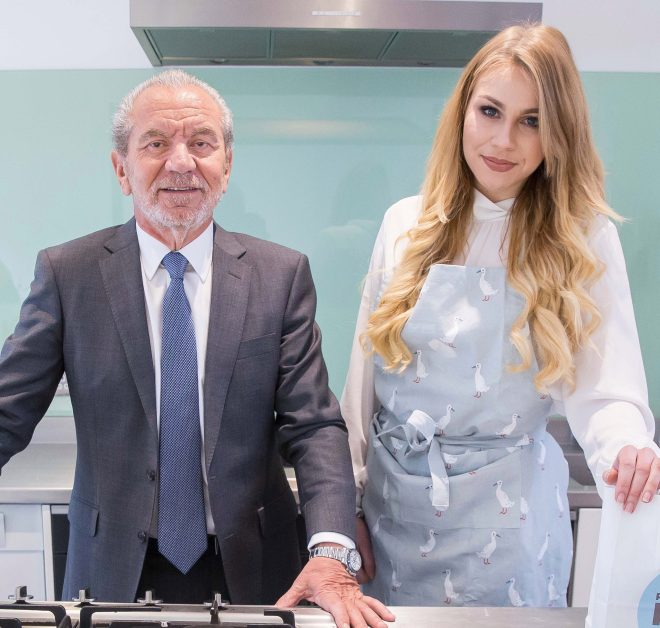 Lord Sugar and Alana Spencer have parted ways after just three years