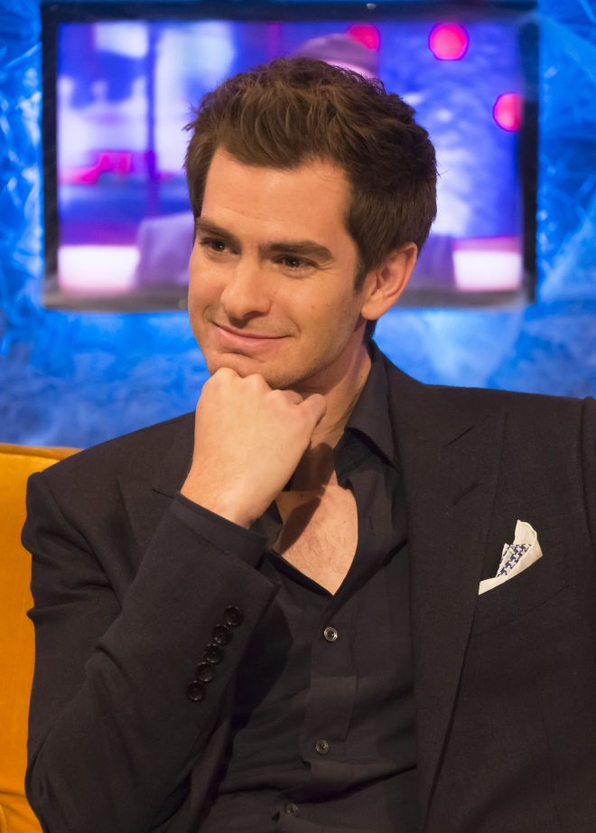 Andrew Garfield is on celeb dating app Raya