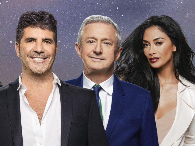 Nicole Scherzinger and Louis Walsh join Simon on the panel