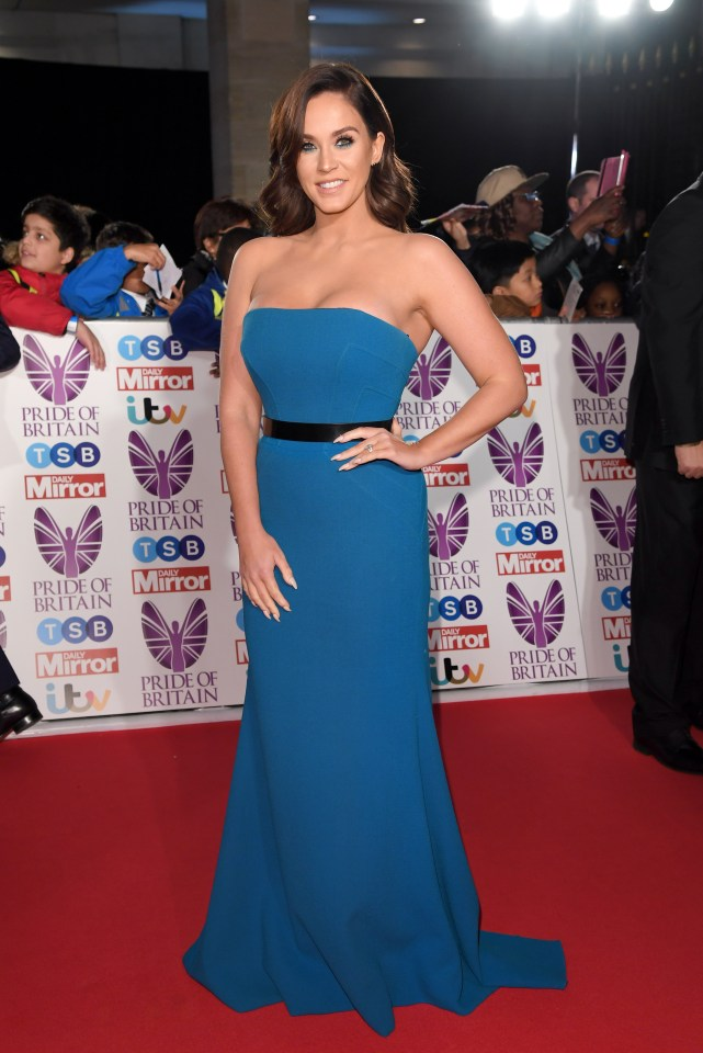 Vicky Pattison at the Pride of Britain Awards