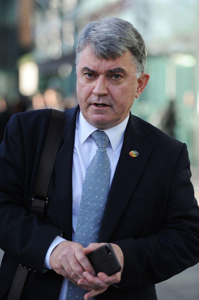RMT general secretary Mick Cash sanctions scores of walkouts that cripple the rail network each year