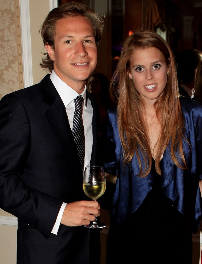 Princess Beatrice had been dating Dave Clark for almost ten years before they split