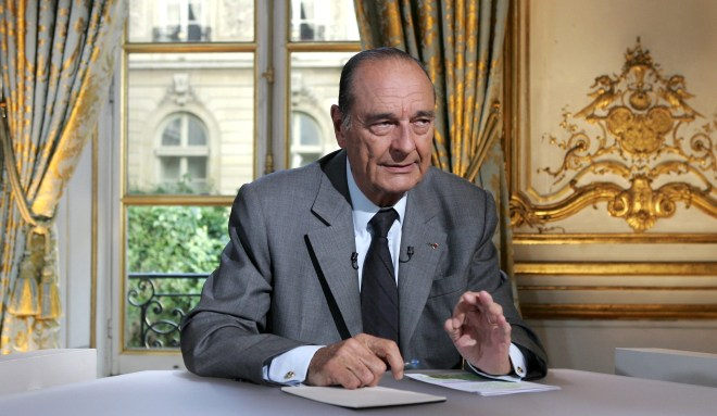 Jacques Chirac died after being admitted to hospital, say his family