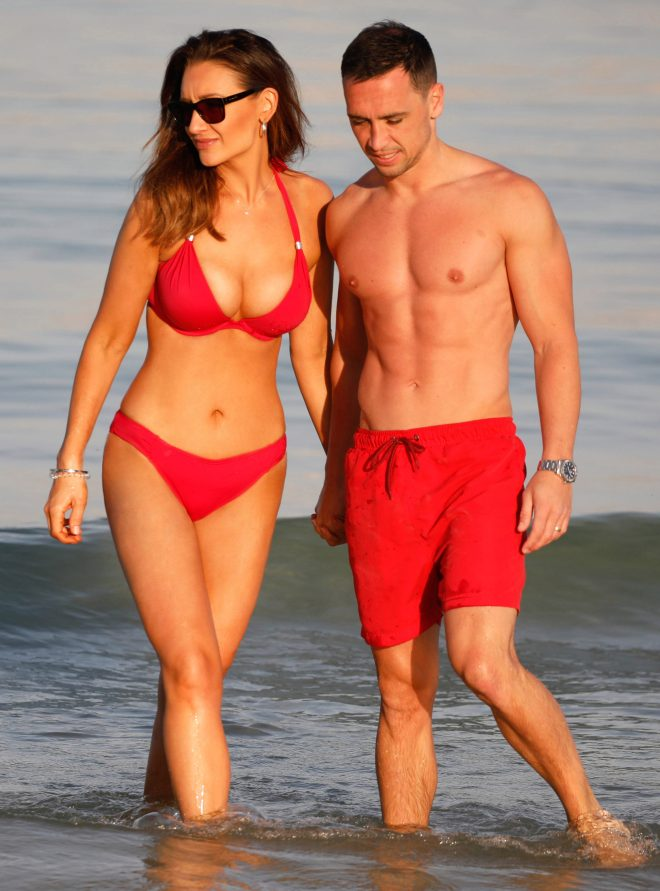 Ex-Corrie star Catherine, 35, says she and hubby Tom Pitford, 31, are happily married