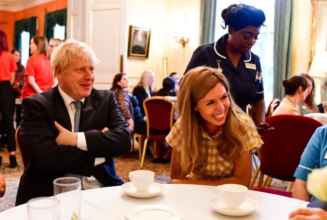 Carrie Symonds will be by the PM's side in New York