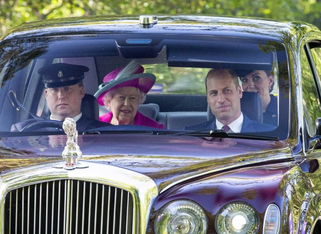 Prince William and Kate Middleton joined the Queen in Balmoral