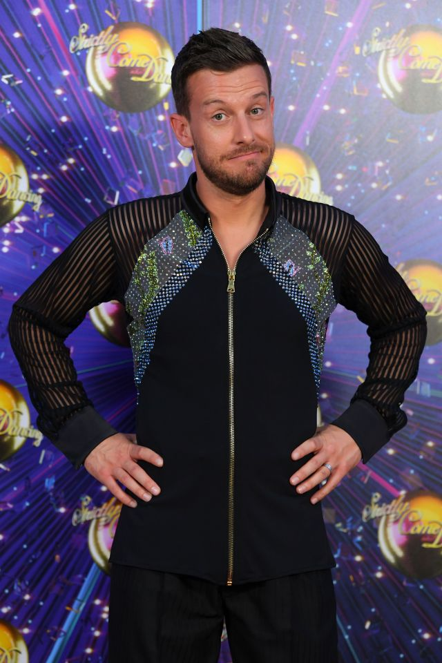 Strictly's Chris Ramsey has already been plagued with injuries after hurting his back and pulling his groin
