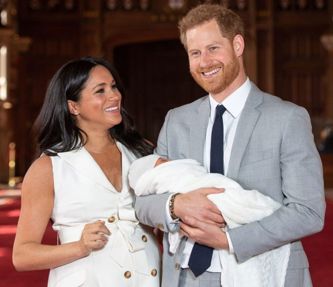 The couple welcomed baby Archie in May