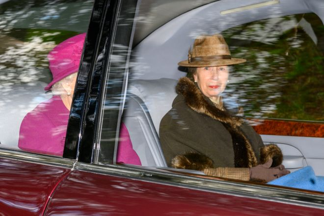 Princess Anne also joined the Queen