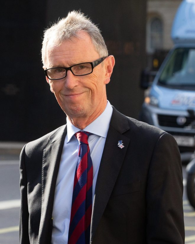 Tory MP Nigel Evans has said the charity is putting its reputation at risk
