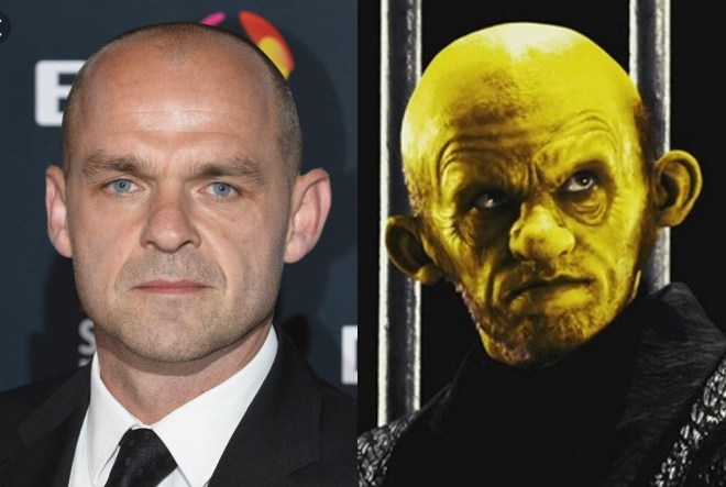 This weeks lookalikes are Danny Murphy and That Yellow B*stard from Sin City
