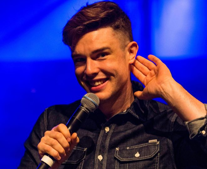 Ed Gamble is a comedian who is joining Taskmaster for series ninie