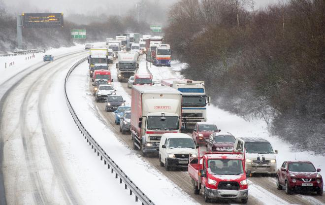 The Beast from the East caused widespread havoc