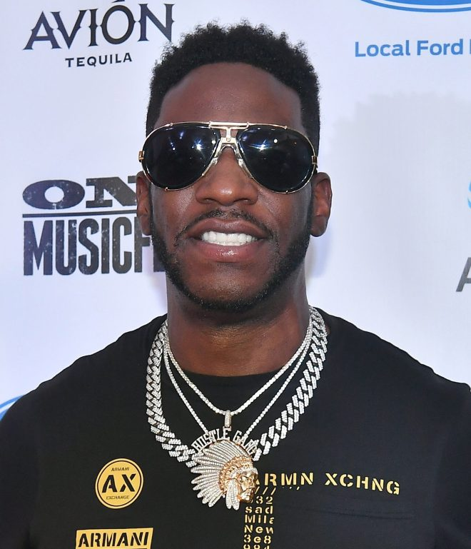 Young Dro was jailed for 12 months after pleading guilty to one count of battery and family violence