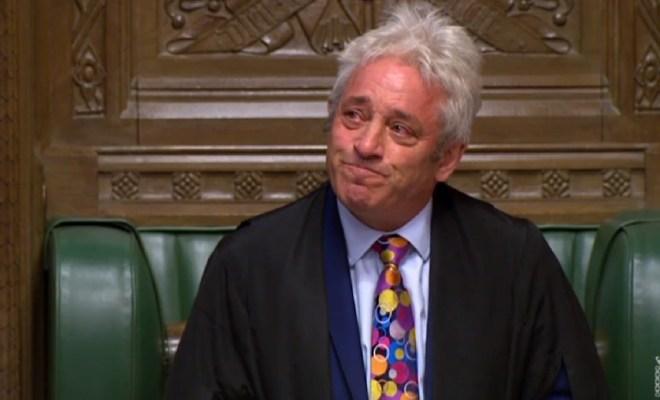 John Bercow sensationally resigned as the speaker for the House of Commons