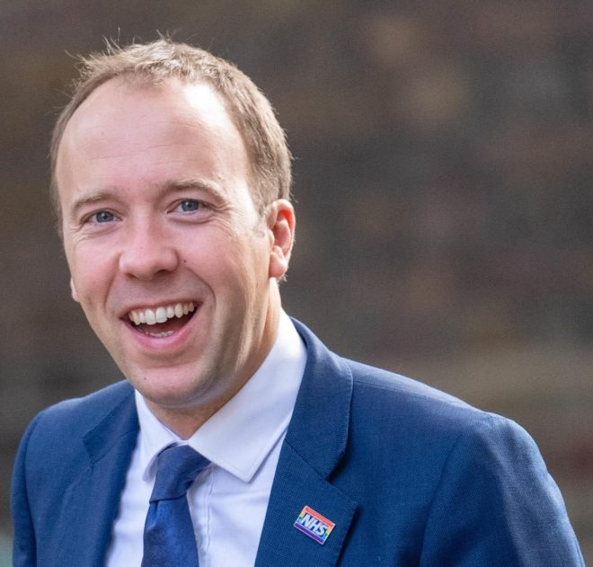 Health Secretary Matt Hancock said the deadly drop in immunisation rates was 'unacceptable'