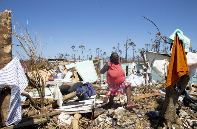 But the devastation was far worse in the Bahamas