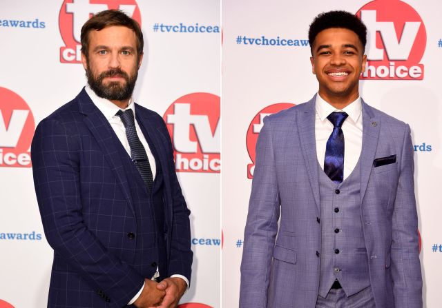 The Sun can reveal that Hollyoaks star Jamie Lomas, left, and Emmerdale's Asan N'Jie clashed over a mutual acquaintance and a financial dispute