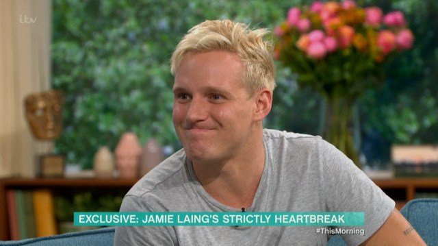 The Made In Chelsea star appeared on This Morning today to discuss his injury