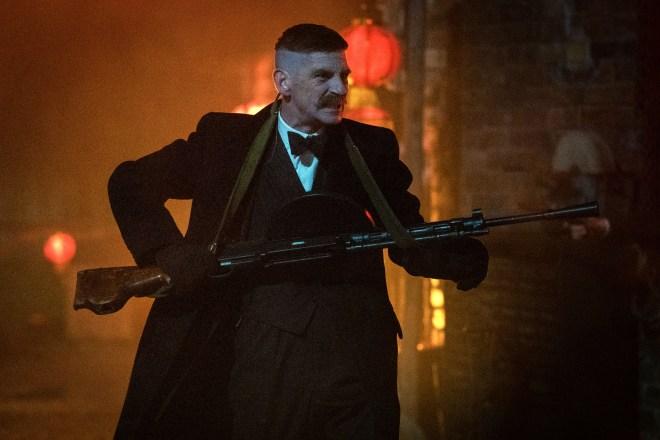 Arthur Shelby shot at Irish gangsters in Peaky Blinders season five episode 5