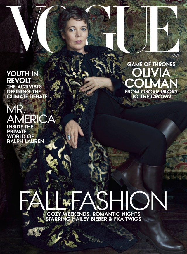 Olivia Colman looks incredible on the cover of Vogue