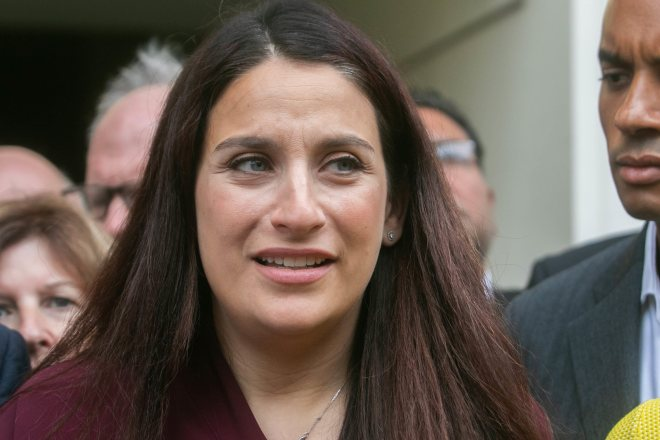 Jewish MP Luciana Berger was given police protection at last year's conference after receiving a torrent of anti-Semitic abuse