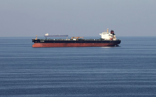 The Strait of Hormuz one of the key routes for global energy supplies (stock)