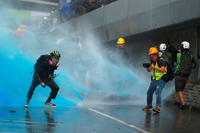 A photographer on the frontline during the weekend riots