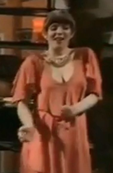 She previously displayed her dancing skills in 1977s Abigails Party