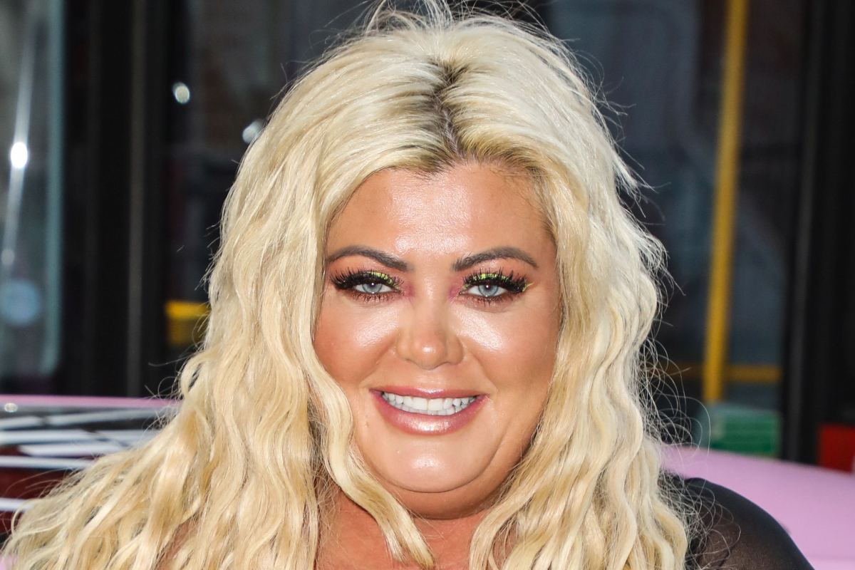 Inside Gemma Collins' kitsch family home with doll's heads in jars, large blue sofa and immaculate garden