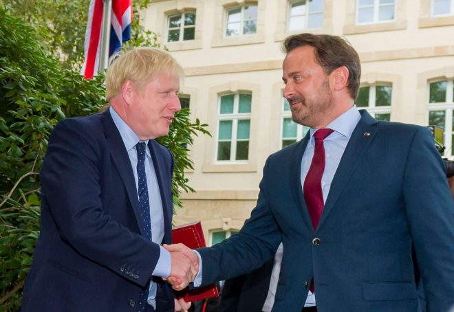 Boris Johnson's treatment at the hands of Xavier Bettel was an outrage