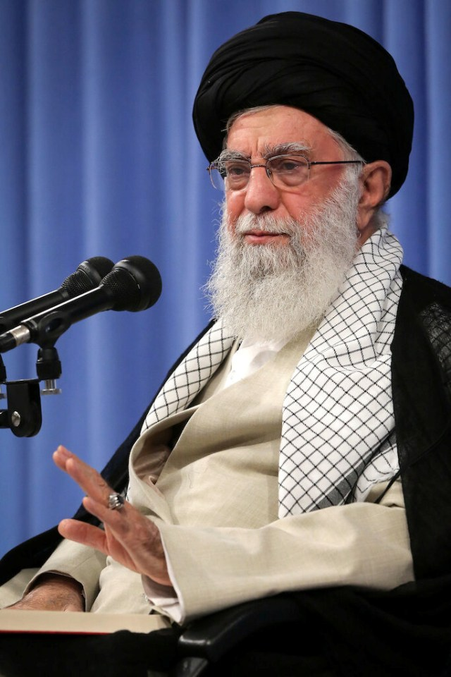 Supreme Leader Ayatollah Ali Khamenei is accused of masterminding the attacks