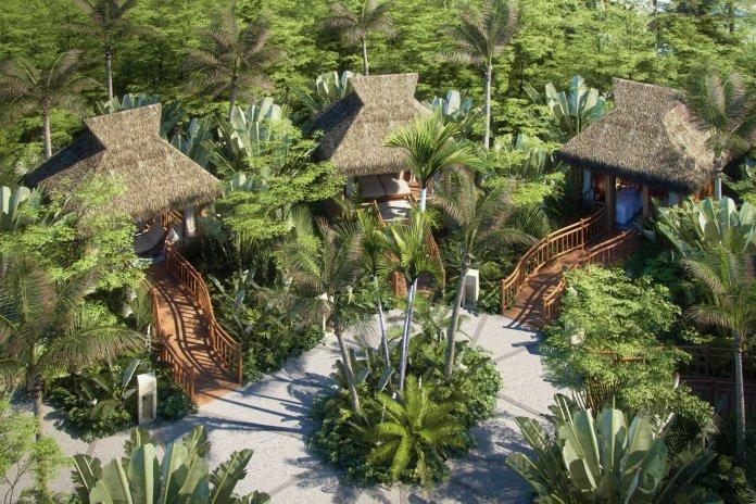 The park boasts 19 cabanas