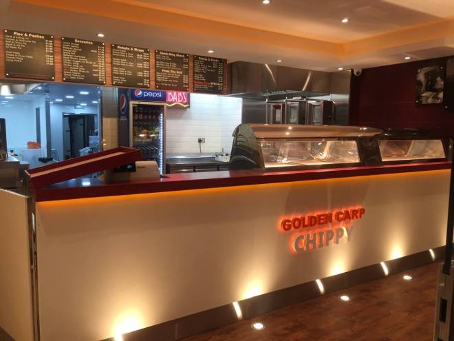 The Golden Carp offers their customers a gluten-free batter
