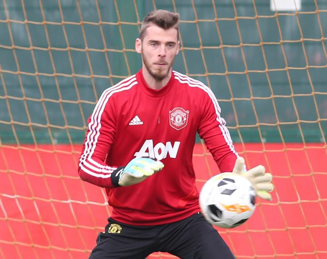 Man Utd keeper David De Gea was taunted after claiming Man Utd are the best club in England
