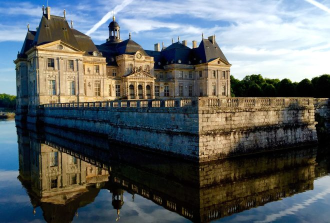 Raider stormed The Château de Vaux-le-Vicomte at dawn tying up the elderly owners