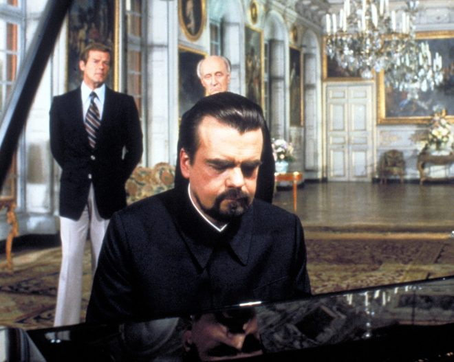 The chateau was the home of Bond baddie Hugo Drax in Moonraker