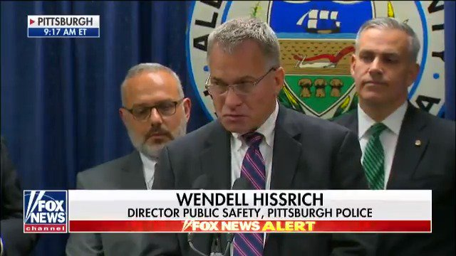 Pittsburgh director of public safety Wendell Hissrich said there was no indication of a party at the flat