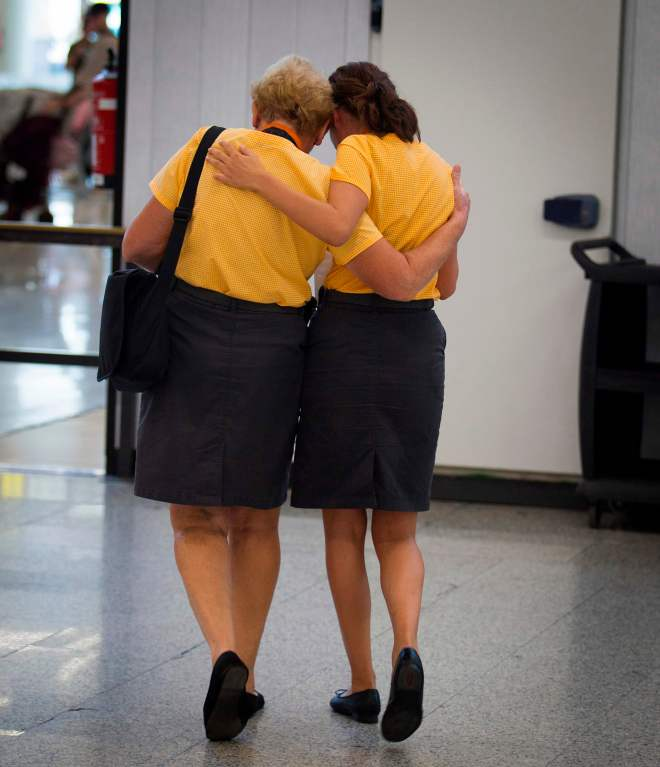 Thousands of Thomas Cook crew have been stranded abroad