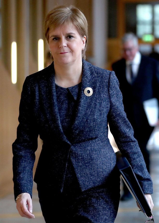 Nicola Sturgeon accused the PM of shameful game-playing