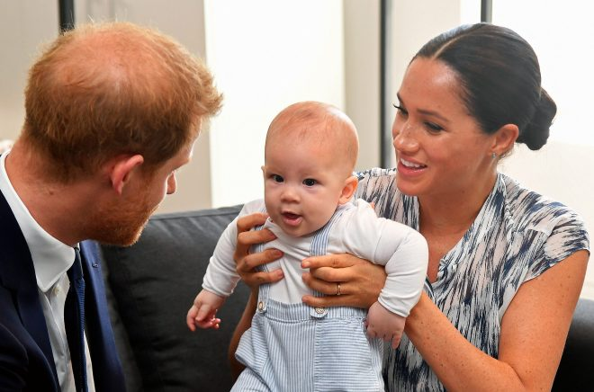 Meghan and Harry are currently on a royal tour of South Africa, along with baby Archie