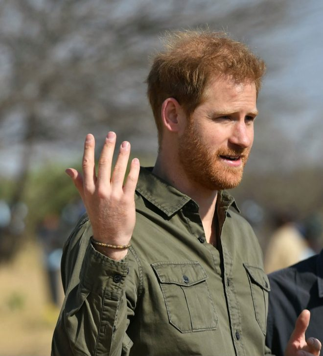 Prince Harry said climate change science was 'undeniable'