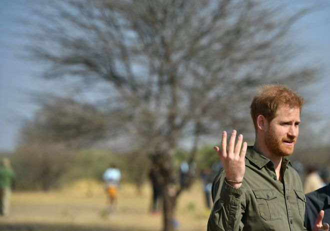 The duke spoke about why Botswana is so important to him