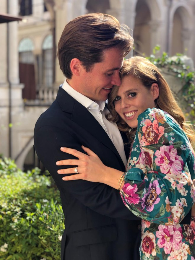 Beatrice gushed over how excited she was to get married