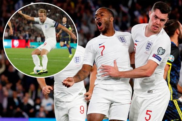 Jadon Sancho Scores Twice As England Vs Kosovo Channel