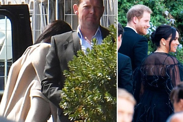 Meghan & Harry head home from wedding to collect Archie before Africa tour